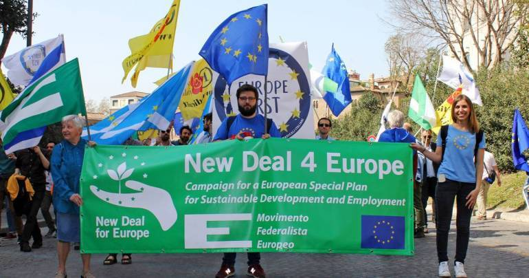 Campagne NewDeal4Europe : point d'avancement 20/04/2017