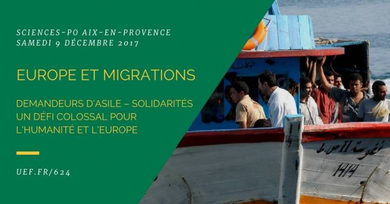 Colloque : Europe et migrations
